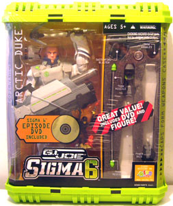 Sigma 6: Artic Duke With DVD