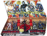 25th Anniversary 5-Pack Cobra - Cobra Legions [Storm Shadow, Cobra Trooper, Cobra Commander, Cobra Vehicle Driver, Cobra Air Tro