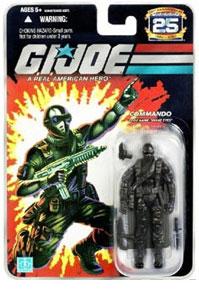 25th Anniversary - Commando Black Snake Eyes Wave 5
