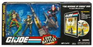 GI JOE Battle Packs - Weather Dominator and Revenge of Cobra