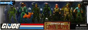 GI JOE Battle Packs - Assault on Cobra Island