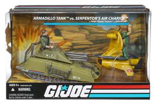 25th Anniversary - Armadillo Vs Serpentor Chariot