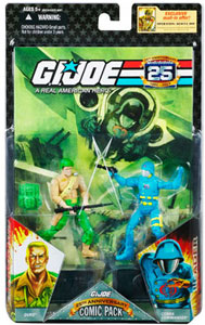 25th Anniversary Comic 2-Pack: Duke and Cobra Commander