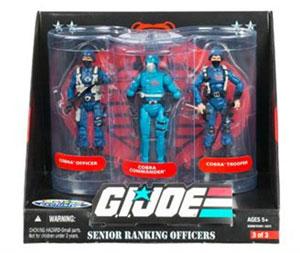 G.I. Joe Senior Ranking Officers - Cobra Infantry Command