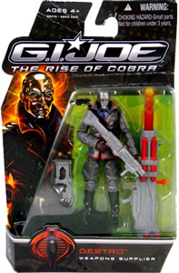 GI Joe Rise Of Cobra - Weapons Supplier - Destro