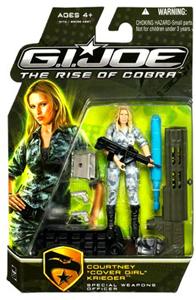 GI Joe Rise Of Cobra - Courtney Cover Girl Krieger