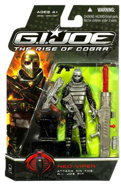 GI Joe Rise Of Cobra - Neo-Viper (Attack On The G.I. Joe Pit)
