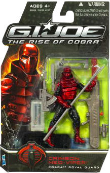 GI Joe Rise Of Cobra - Crimson Neo-Viper