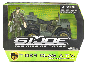 The Rise Of The Cobra - Tiger Claw ATV with Leatherneck