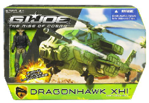 The Rise Of The Cobra - DragonHawk XH1 Helicopter with Wild Bill