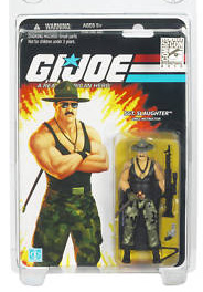 25th Anniversary - SDCC 2010 Sgt Slaughter Variant [Guns and Black Shirt]