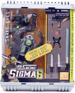 Sigma 6: Snake Eyes Jungle Commando