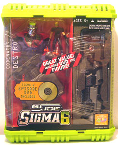 Sigma 6: Destro With DVD