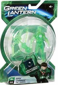 Green Lantern Movie - 4-Inch Max Charge Hal Jordan