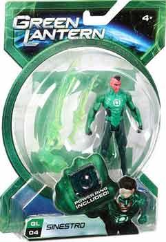 Green Lantern Movie - 4-Inch Sinestro
