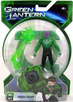 Green Lantern Movie - 4-Inch Abin Sur