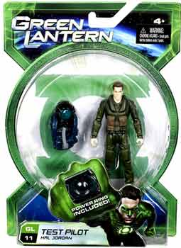 Green Lantern Movie - 4-Inch Test Pilot Hal Jordan