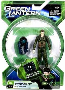 Green Lantern Movie - 4-Inch Test Pilot Hal Jordan
