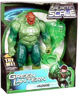 Green Lantern Movie Galactic Scale - 10-Inch Deluxe Kilowog