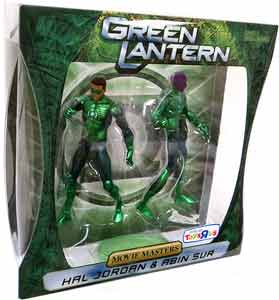 Green Lantern Movie Masters- Hal Jordan and Abin Sur