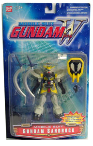 Mobile Suit Gundam Sandrock Yellow Paint