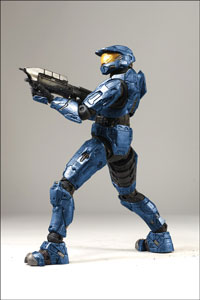 12-Inch Halo 3 Spartan Mark VI - Blue Exclusive