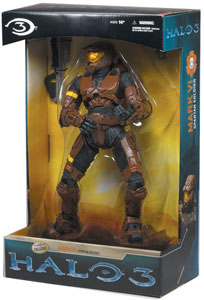 12-Inch Halo 3 Spartan Mark VI - Brown Exclusive