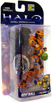 Halo 3 SDCC Spartan Grifball Exclusive