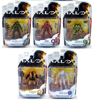 Halo 3 Series 4 - Set of 5