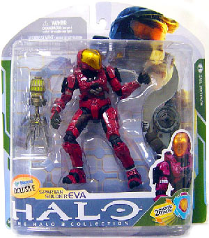 Halo 3 - Exclusive Crimson Spartan Soldier EVA