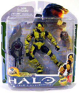 Halo 3 - Exclusive Gold Spartan Soldier CQB