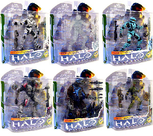 Halo 3 - Series 5 (2009 WAVE 2) Set of 6