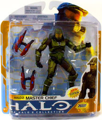 Halo 3 Series 8 - Master Chief  with Brute Plasma Rifles