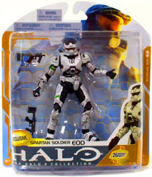 Halo 3 Series 8 - White Spartan EOD