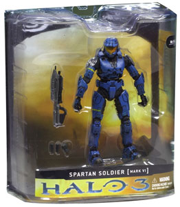 Halo 3 - Blue Spartan Mark VI Exclusive