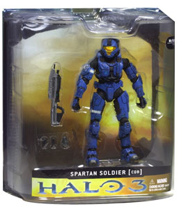 Halo 3 - Blue Spartan CQB Exclusive