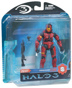 Mcfarlane Halo 3 Series 2 - Spartan CQB Red