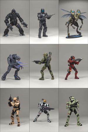 Halo 3 Series 2 Set of 9