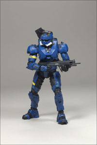 Halo 3 Series 2 - EOD Team Blue Spartan Exclusive