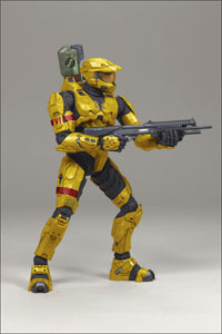 Halo 3 Series 2 - Spartan Mark VI Gold Exclusive