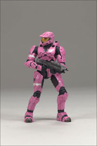Halo 3 Series 2 - Spartan Mark VI Pink Exclusive