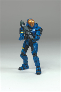 Halo 3 -  Spartan EVA Blue Exclusive