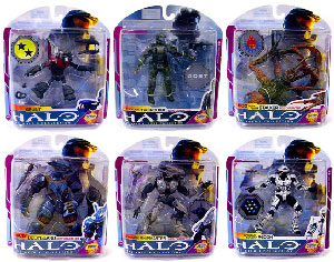 Halo 3 - Series 6 - Medal Edition Set of 6