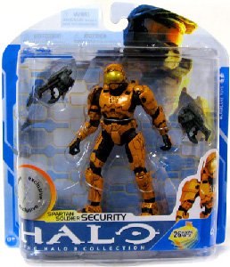 Halo 3 - Exclusive Orange Spartan Soldier Security