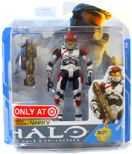 Halo 3 - Series 7 Exclusive White Spartan Soldier Mark V