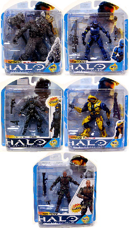 Halo 3 - Series 7 Set of 5
