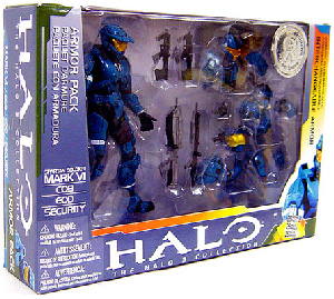 HALO TEAL MARK VI DELUXE ARMOR PACK EXCLUSIVE