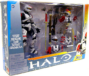 HALO ROGUE DELUXE ARMOR PACK (WHITE)