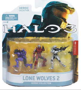 Halo 3 Heroic Collection - Lone Wolves 2: Hayabusa, Mark VI, Eva