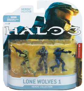 Halo 3 Heroic Collection - Lone Wolves 1: Rogue, EOD, Mark VI